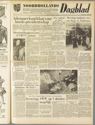 Noordhollands Dagblad : dagblad voor Alkmaar en omgeving 1959-04-08