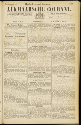 Alkmaarsche Courant 1899-02-19