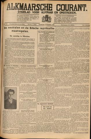 Alkmaarsche Courant 1939-11-23