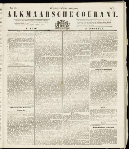 Alkmaarsche Courant 1871-08-20