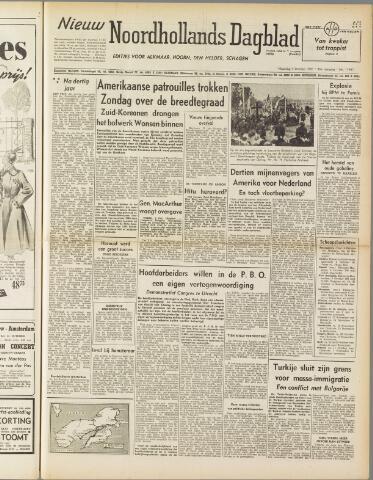 Nieuw Noordhollandsch Dagblad : voor Alkmaar en omgeving 1950-10-09