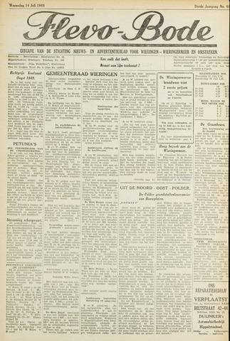 Flevo-bode: nieuwsblad voor Wieringen-Wieringermeer 1948-07-10