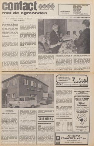 Contact met de Egmonden 1976-09-08