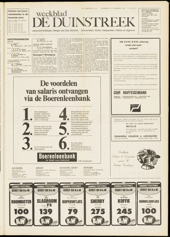 De Duinstreek 1969-12-18