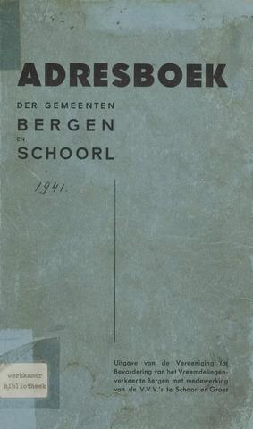 Adresboek van Bergen 1941-01-01