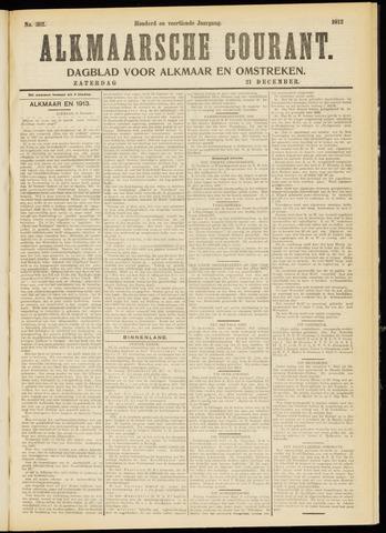 Alkmaarsche Courant 1912-12-21