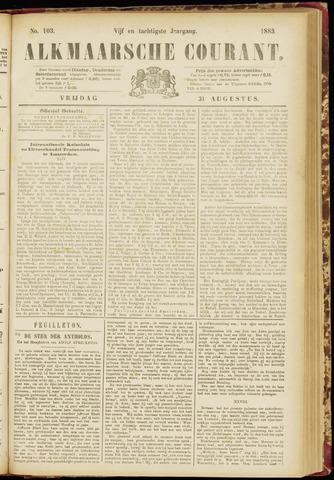 Alkmaarsche Courant 1883-08-31
