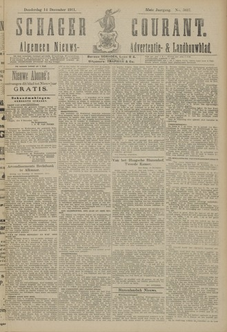 Schager Courant 1911-12-14