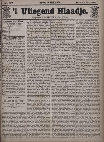 Vliegend blaadje : nieuws- en advertentiebode voor Den Helder 1879-05-09
