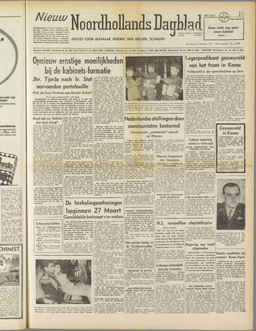 Nieuw Noordhollandsch Dagblad : voor Alkmaar en omgeving 1951-02-15