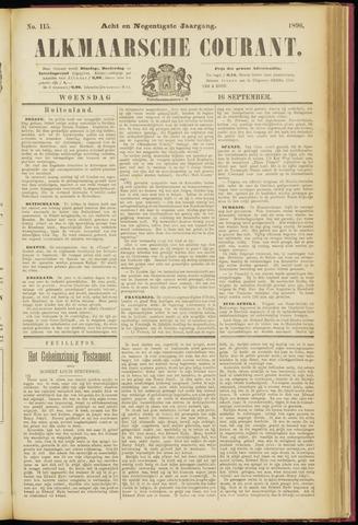 Alkmaarsche Courant 1896-09-16