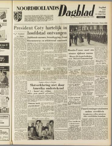 Noordhollands Dagblad : dagblad voor Alkmaar en omgeving 1954-07-22