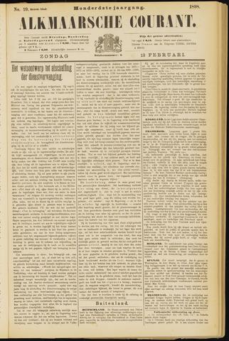 Alkmaarsche Courant 1898-02-13