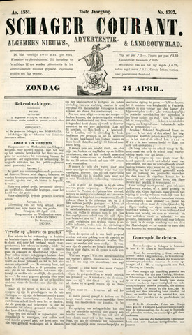 Schager Courant 1881-04-24