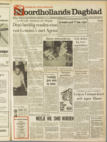 Noordhollands Dagblad : dagblad voor Alkmaar en omgeving 1965-08-24