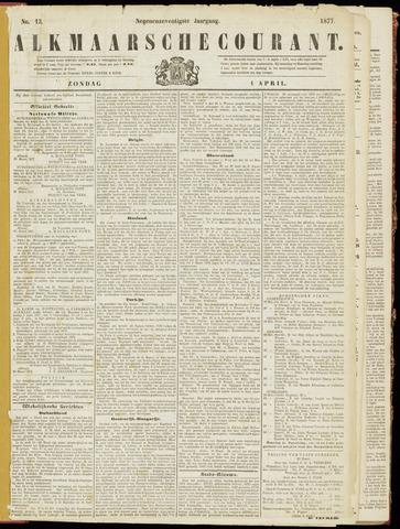 Alkmaarsche Courant 1877-04-01