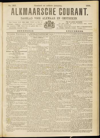 Alkmaarsche Courant 1906-11-08