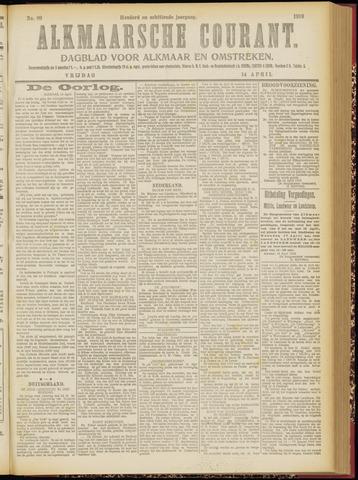 Alkmaarsche Courant 1916-04-14