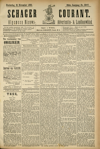 Schager Courant 1895-11-21