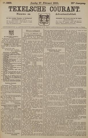 Texelsche Courant 1910-02-27