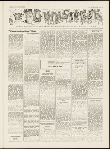 De Duinstreek 1951-11-30