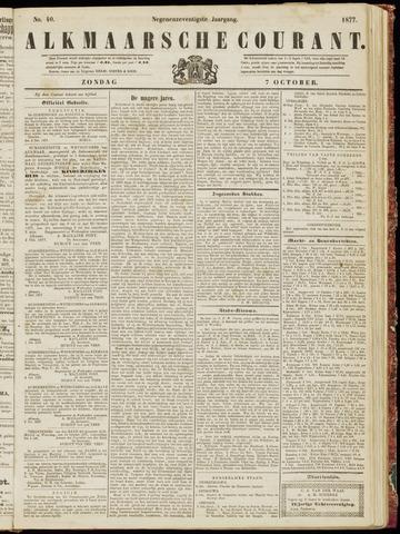 Alkmaarsche Courant 1877-10-07
