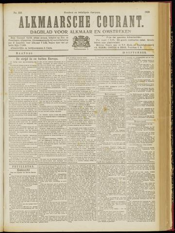 Alkmaarsche Courant 1918-09-23