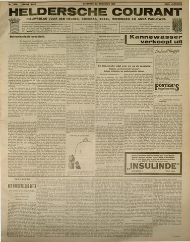 Heldersche Courant 1931-08-22