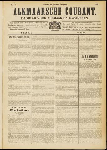 Alkmaarsche Courant 1913-06-23