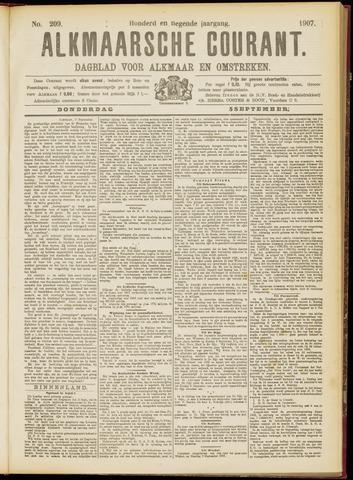 Alkmaarsche Courant 1907-09-05