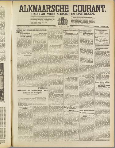 Alkmaarsche Courant 1941-02-05