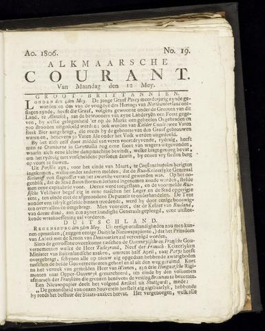 Alkmaarsche Courant 1806-05-12
