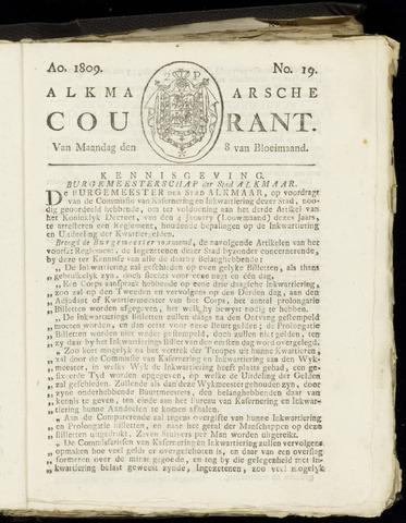 Alkmaarsche Courant 1809-05-08