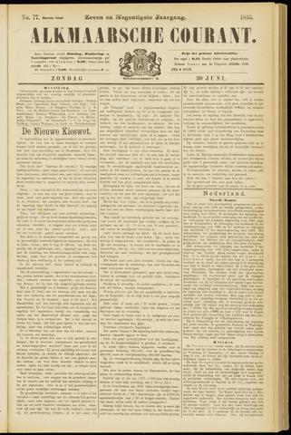 Alkmaarsche Courant 1895-06-30