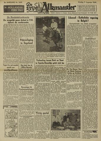 De Vrije Alkmaarder 1949-08-09