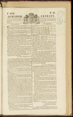 Alkmaarsche Courant 1846-08-31