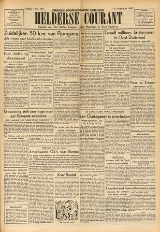 Heldersche Courant 1950-10-17