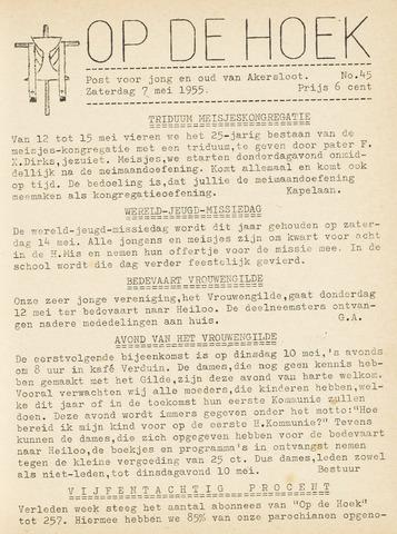 Op De Hoek, weekblad voor Akersloot 1955-05-07
