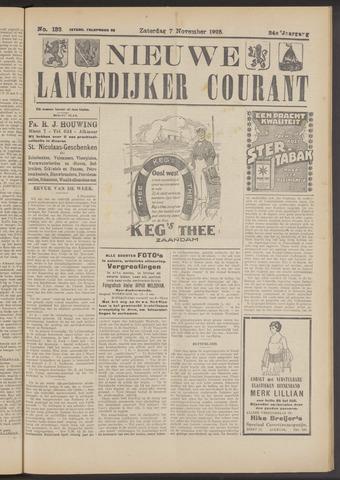 Nieuwe Langedijker Courant 1925-11-07