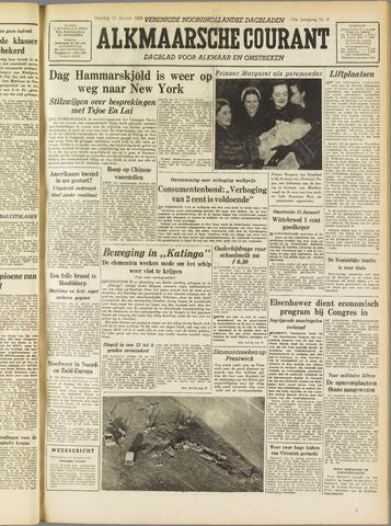 Alkmaarsche Courant 1955-01-11