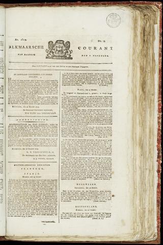 Alkmaarsche Courant 1819-11-08