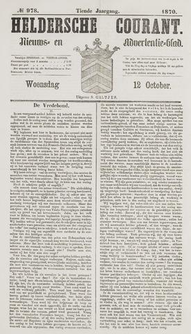 Heldersche Courant 1870-10-12