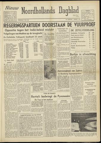 Nieuw Noordhollandsch Dagblad : voor Alkmaar en omgeving 1948-07-08