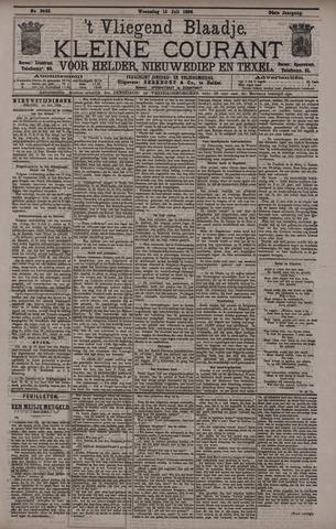 Vliegend blaadje : nieuws- en advertentiebode voor Den Helder 1896-07-15