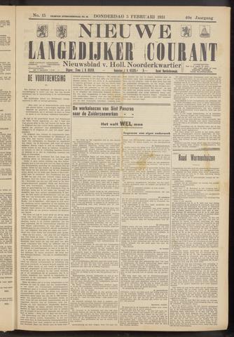 Nieuwe Langedijker Courant 1931-02-05