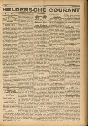 Heldersche Courant 1924-04-29