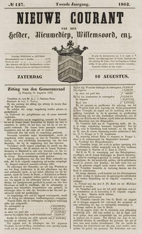 Nieuwe Courant van Den Helder 1862-08-16