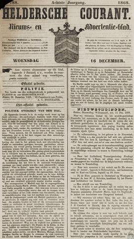 Heldersche Courant 1868-12-16