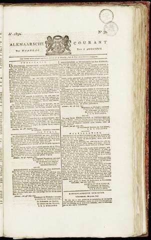 Alkmaarsche Courant 1832-08-06