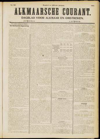 Alkmaarsche Courant 1913-10-04